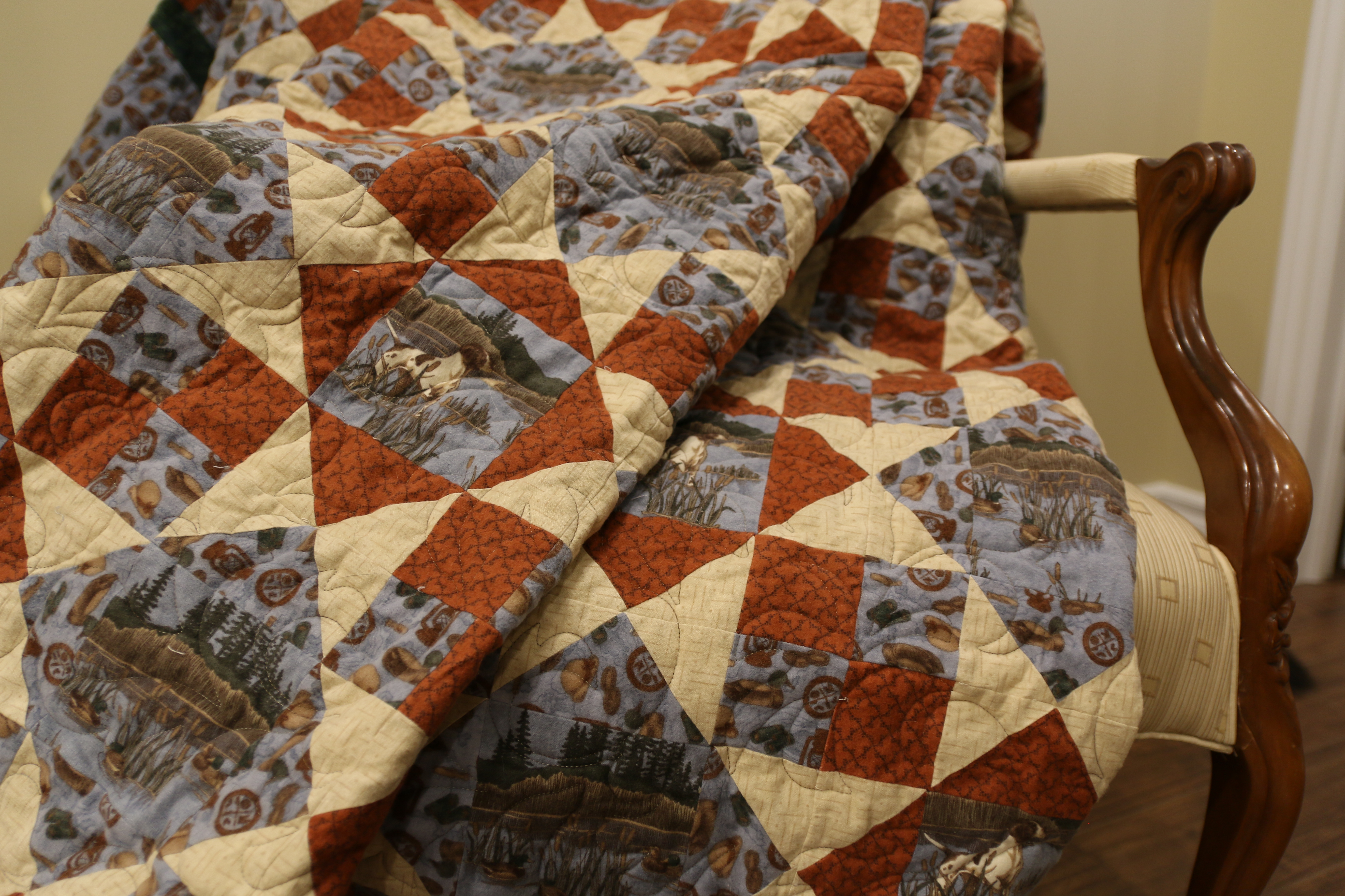 Hunting Dog Quilt